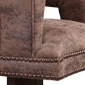 Uttermost Accent Furniture Waylon Cocoa Brown Swivel Chair