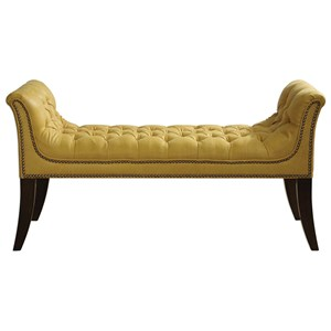 Uttermost Accent Furniture Henning Mustard Bench