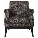 Uttermost Accent Furniture Kaius Tan & Black Accent Chair - Item Number: 23422