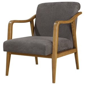 Uttermost Accent Furniture Degory Fabric Accent Chair
