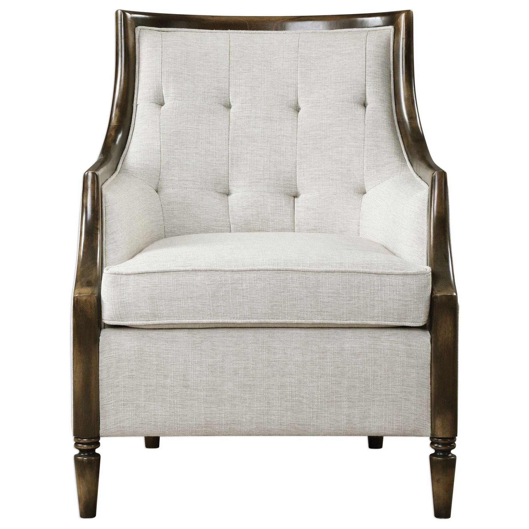 Barraud Oatmeal Accent Chair