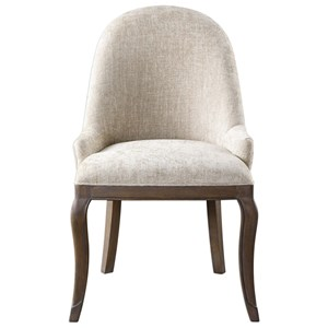 Uttermost Accent Furniture Dariela Chenille Accent Chair