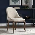 Uttermost Accent Furniture Dariela Chenille Accent Chair