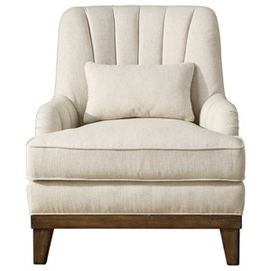 Uttermost Accent Furniture Denney Oatmeal Accent Chair