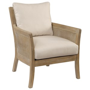 Uttermost Accent Furniture Encore Natural Armchair