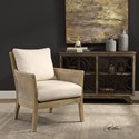 Uttermost Accent Furniture - Accent Chairs Encore Natural Armchair