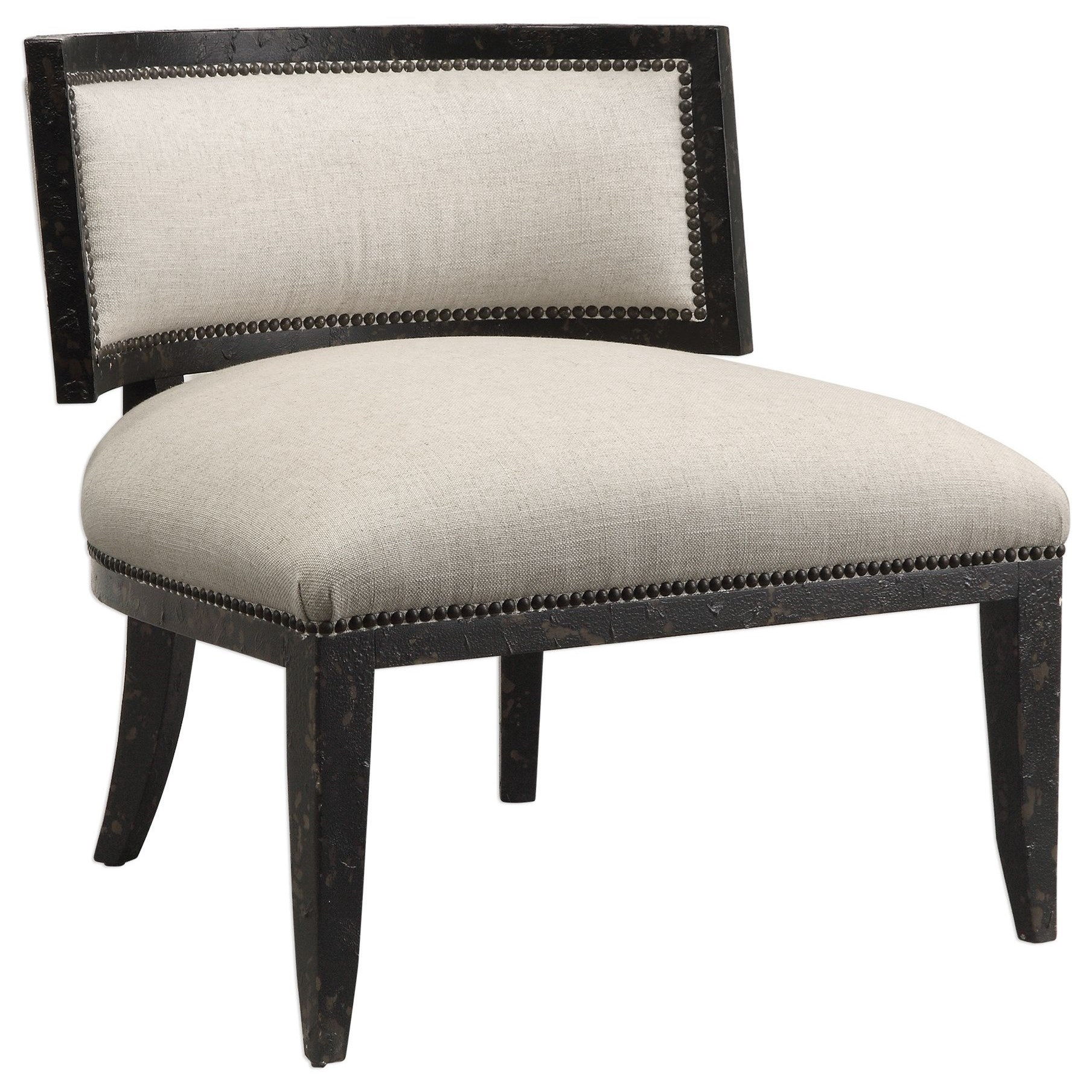 Uttermost Accent Furniture Chairs Somer Oatmeal Chair