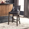 Uttermost Accent Furniture Elowen Leather Counter Stool