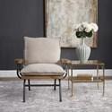 Uttermost Accent Furniture Declan Industrial Accent Chair
