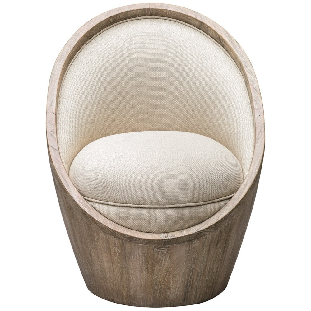 Accent Furniture - Accent Chairs Noemi Morden Accent Chair by Uttermost at Mueller Furniture