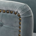 Uttermost Accent Furniture Haider Gray Accent Chair
