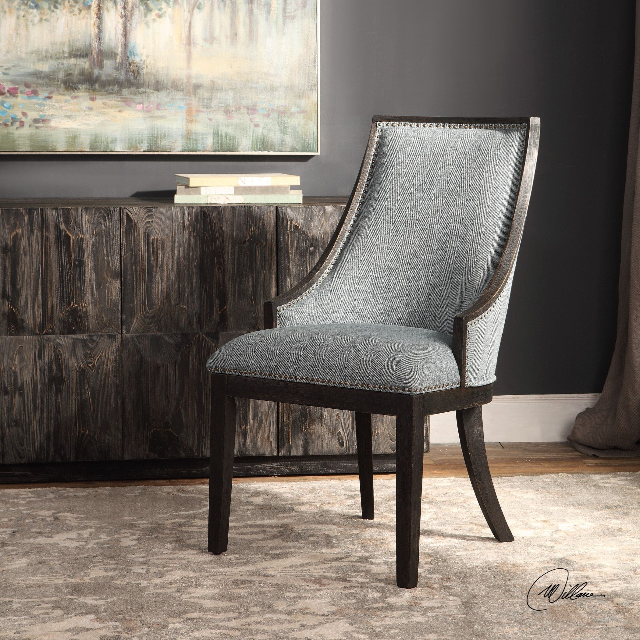 Uttermost Accent Furniture Accent Chairs 23481 Janis
