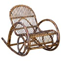 Uttermost Accent Furniture Arlo Rattan Rocking Chair - Item Number: 23482