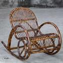 Uttermost Accent Furniture Arlo Rattan Rocking Chair