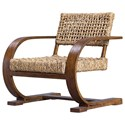 Uttermost Accent Furniture - Accent Chairs Rehema Natural Woven Accent Chair - Item Number: 23483