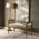 Uttermost Accent Furniture Kosey Chenille Bench