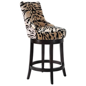 Callix Tiger Print Counter Stool