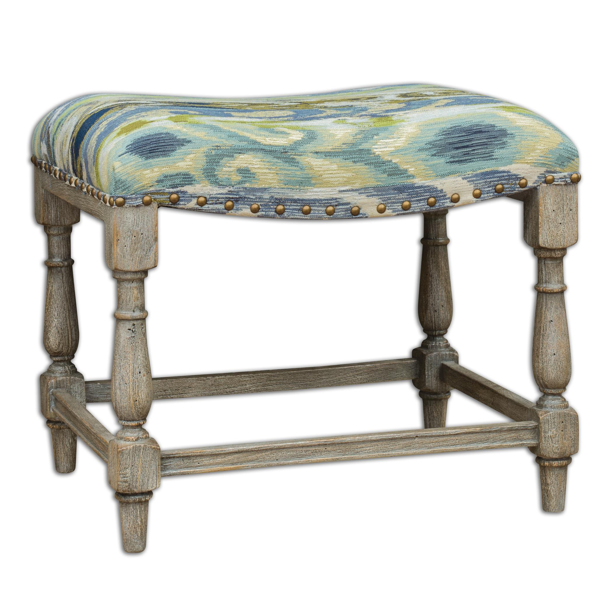 Uttermost Accent Furniture Minkah Small Bench - Item Number: 23627