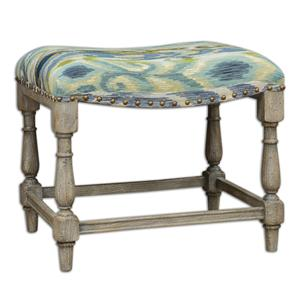 Uttermost Accent Furniture Minkah Small Bench