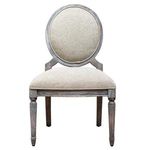 Uttermost Accent Furniture Kamila Driftwood Armless Chair
