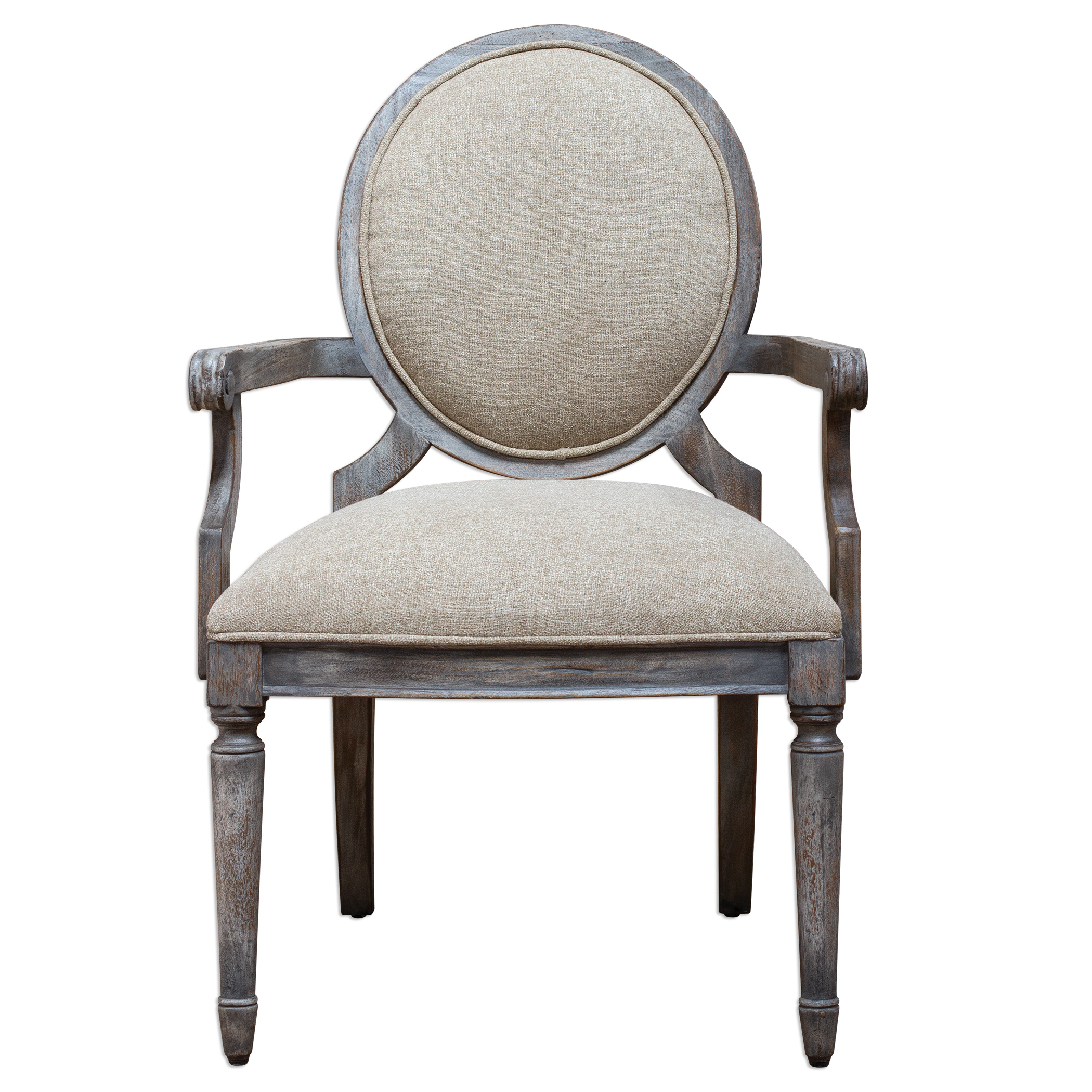Uttermost Accent Furniture Kamila Driftwood Armchair - Item Number: 23647