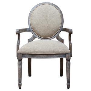 Uttermost Accent Furniture Kamila Driftwood Armchair