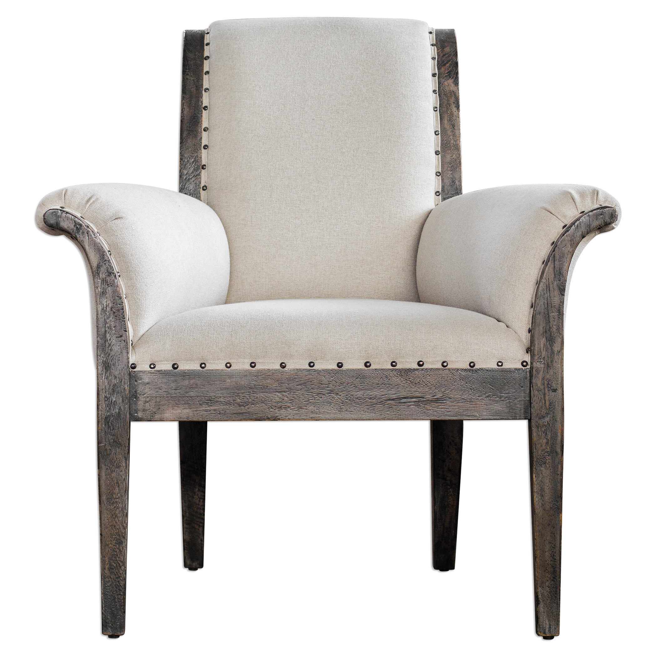 Uttermost Accent Furniture Cahira Armchair - Item Number: 23653