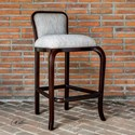 Uttermost Accent Furniture  Tilley Mahogany Bar Stool - Item Number: 23654