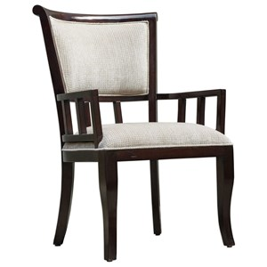 Uttermost Accent Furniture Orlin Mahogany Accent Chair