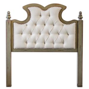 Uttermost Accent Furniture Radcliff Tufted Queen Headboard