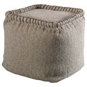 Uttermost Accent Furniture Anaya Pouf - Item Number: 23951