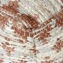 Uttermost Accent Furniture Rewa Beige/Brown Pouf