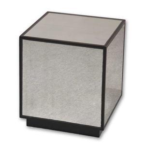 Uttermost Accent Furniture Matty Mirrored Cube