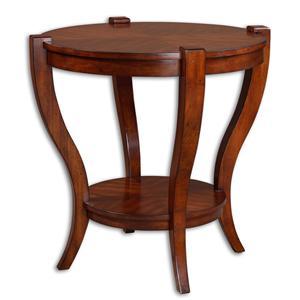 Uttermost Accent Furniture Bergman End Table