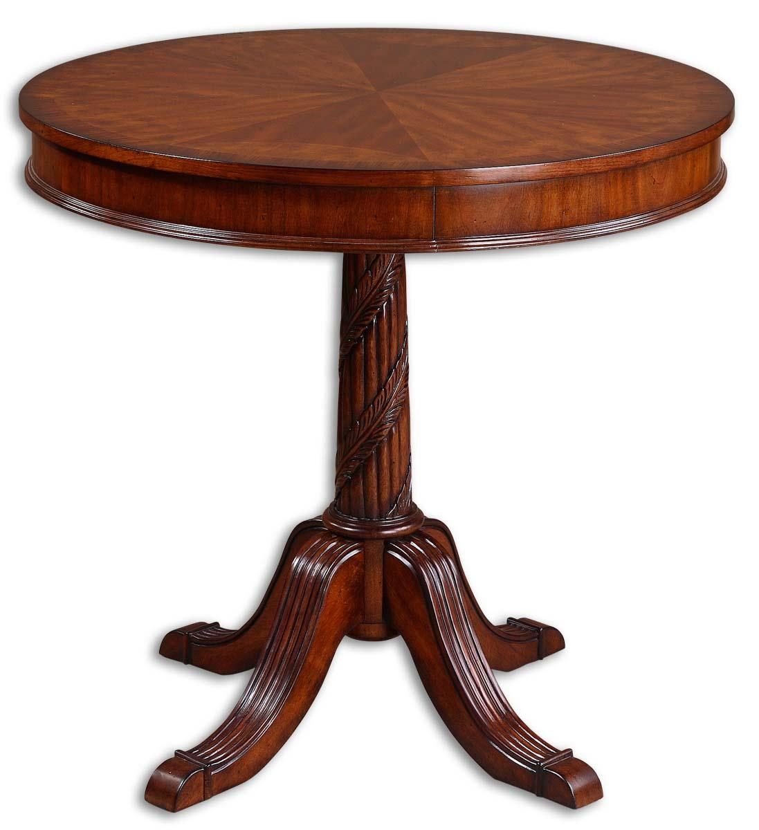 Uttermost Accent Furniture Brakefield Round Table - Item Number: 24149