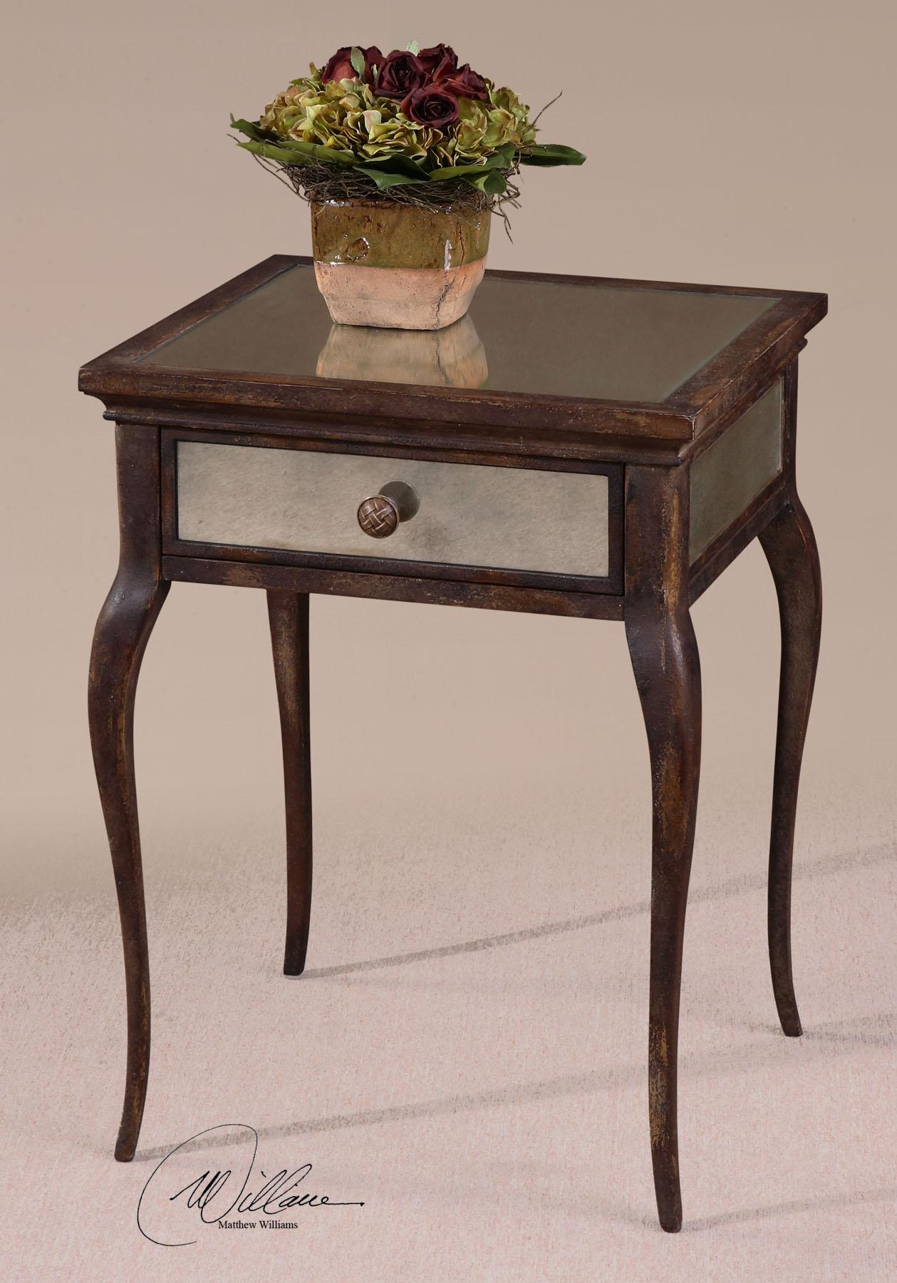 Uttermost Accent Furniture St Owen End Table With