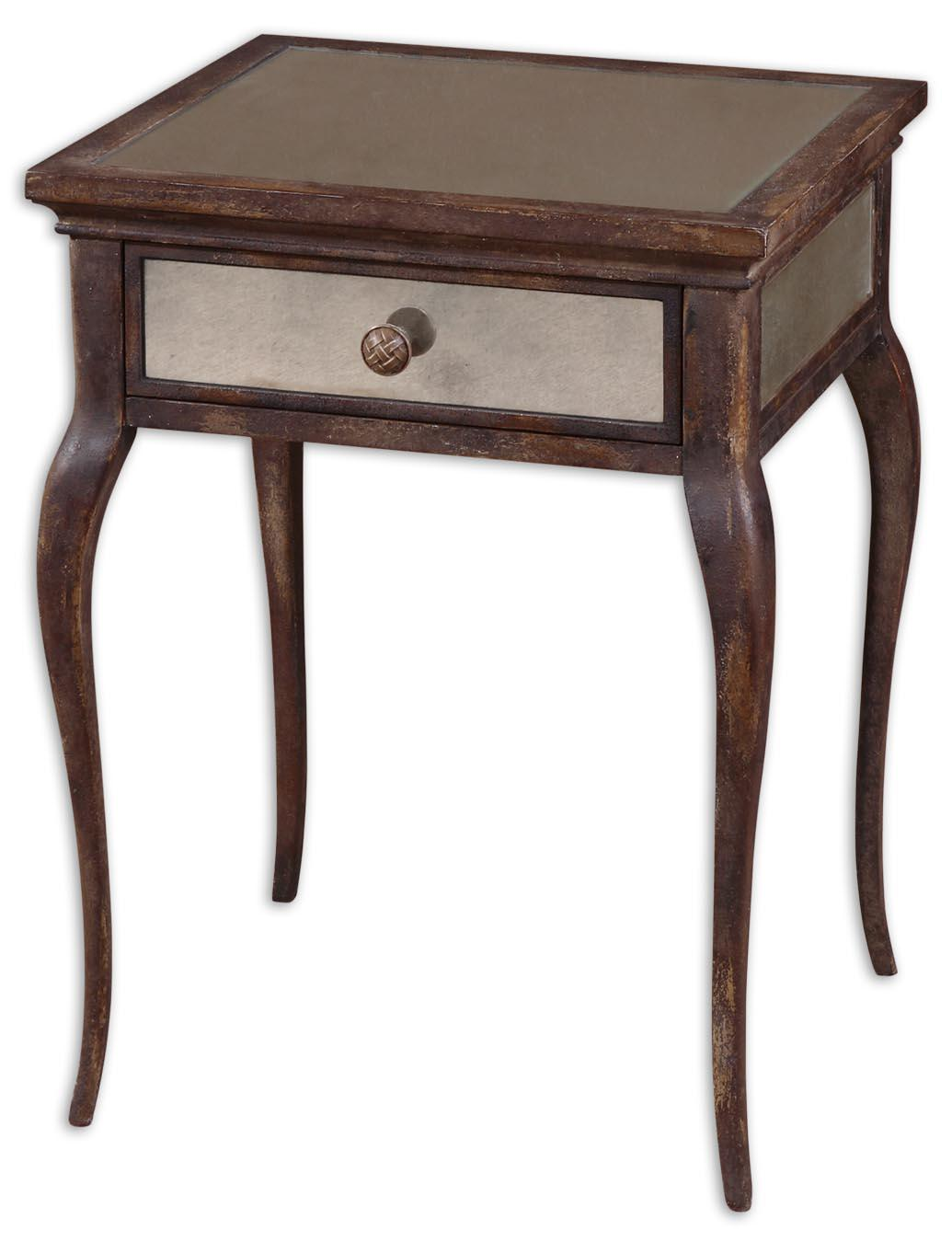 Uttermost Accent Furniture St. Owen End Table - Item Number: 24157