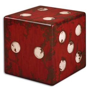 Uttermost Accent Furniture Dice Accent Table