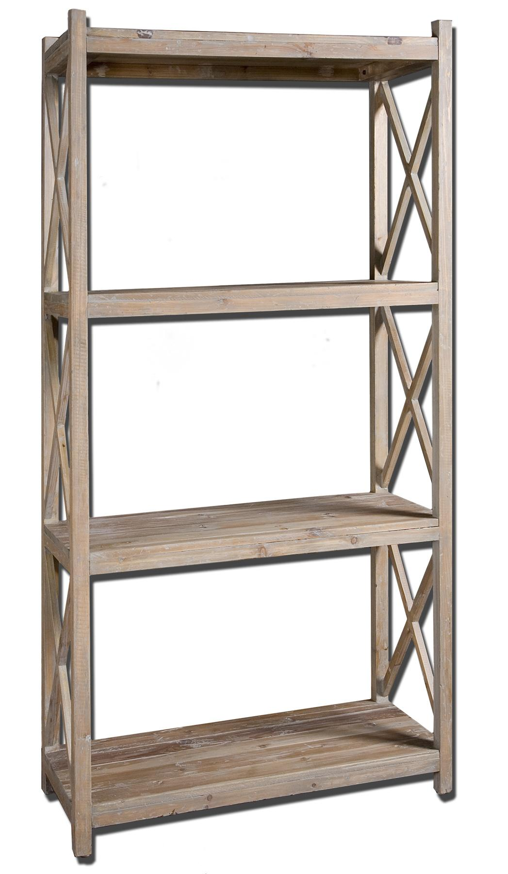 Uttermost Accent Furniture Stratford Etagere - Item Number: 24248