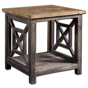 Uttermost Accent Furniture Spiro End Table