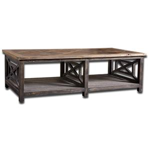 Uttermost Accent Furniture Spiro Cocktail Table
