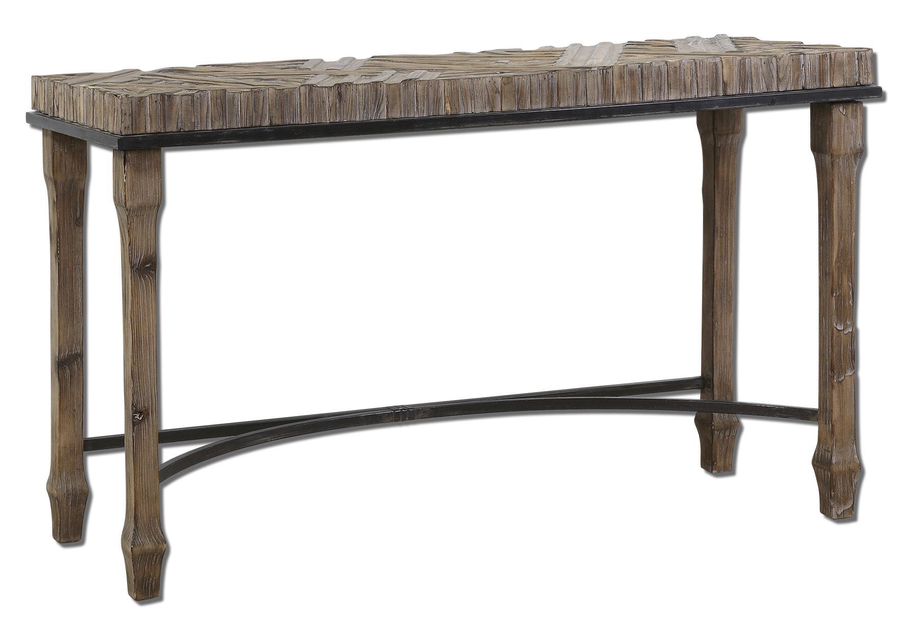 Uttermost Accent Furniture Tehama Console - Item Number: 24266