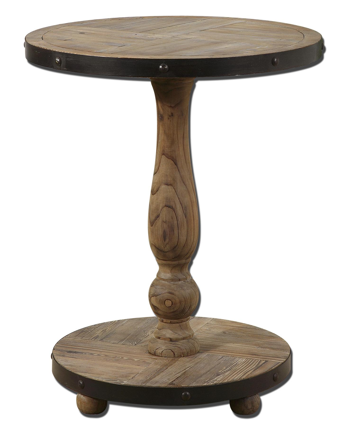 Accent Furniture - Occasional Tables Kumberlin Round Table by Uttermost at Del Sol Furniture