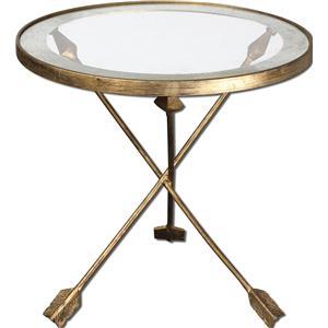 Uttermost Accent Furniture Aero Accent Table
