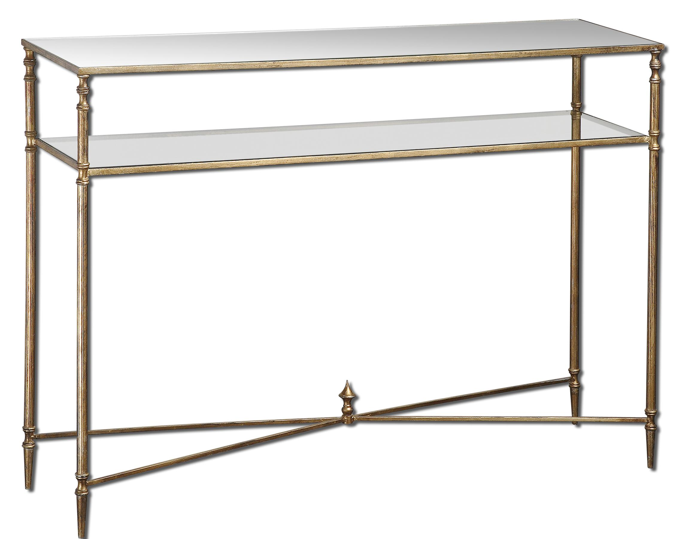 Uttermost Accent Furniture Henzler Console Table - Item Number: 24278