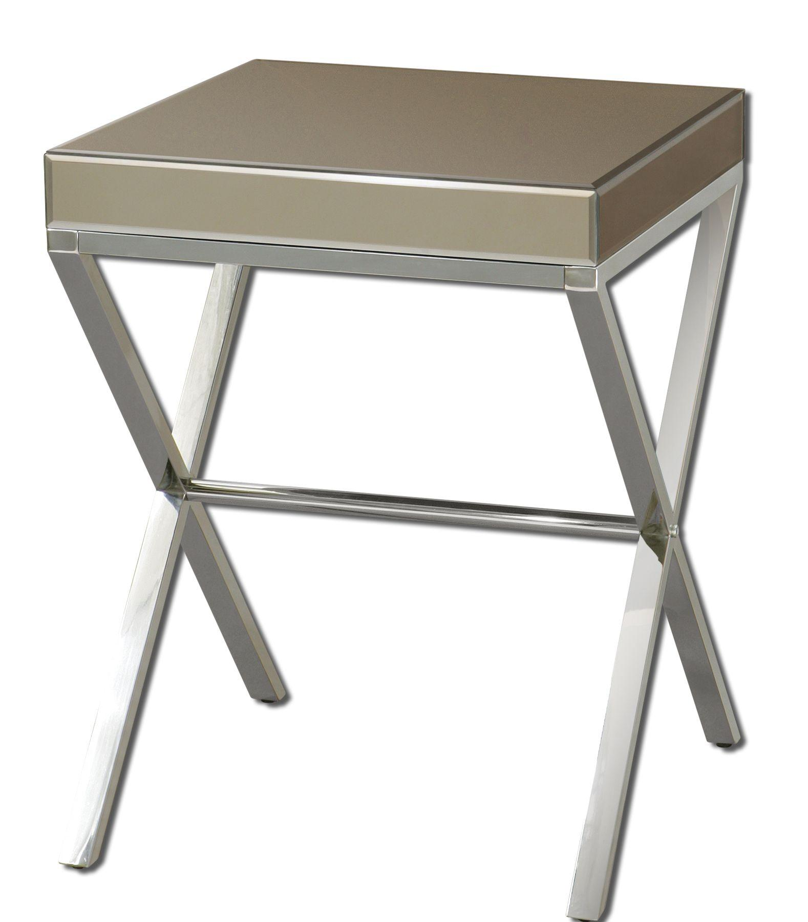 Uttermost Accent Furniture Lexia Side Table - Item Number: 24299