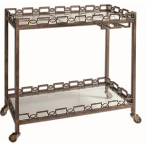 Nicoline Iron Serving Cart