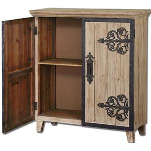 Uttermost Accent Furniture Abelardo Console Cabinet
