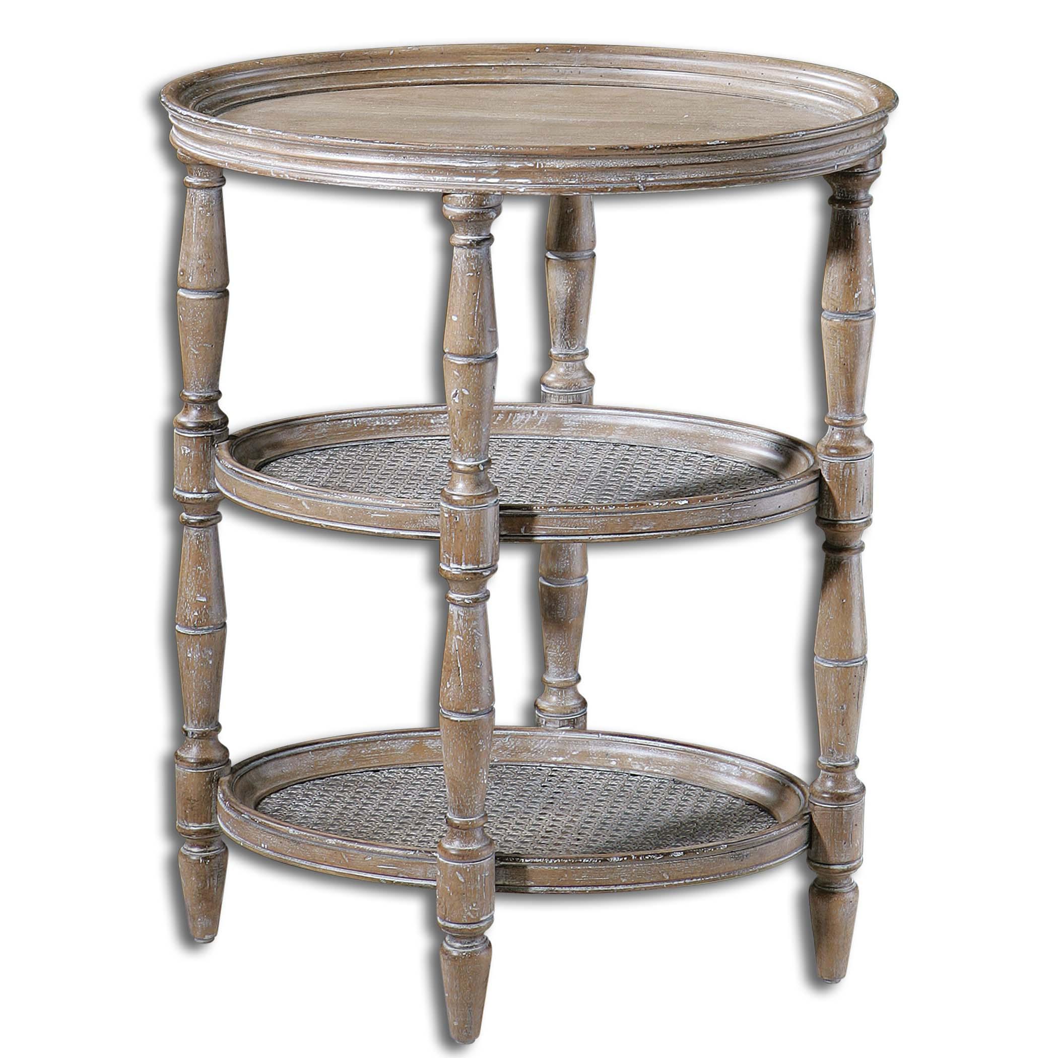 Uttermost Accent Furniture Kendellen Antique Accent Table - Item Number: 24311