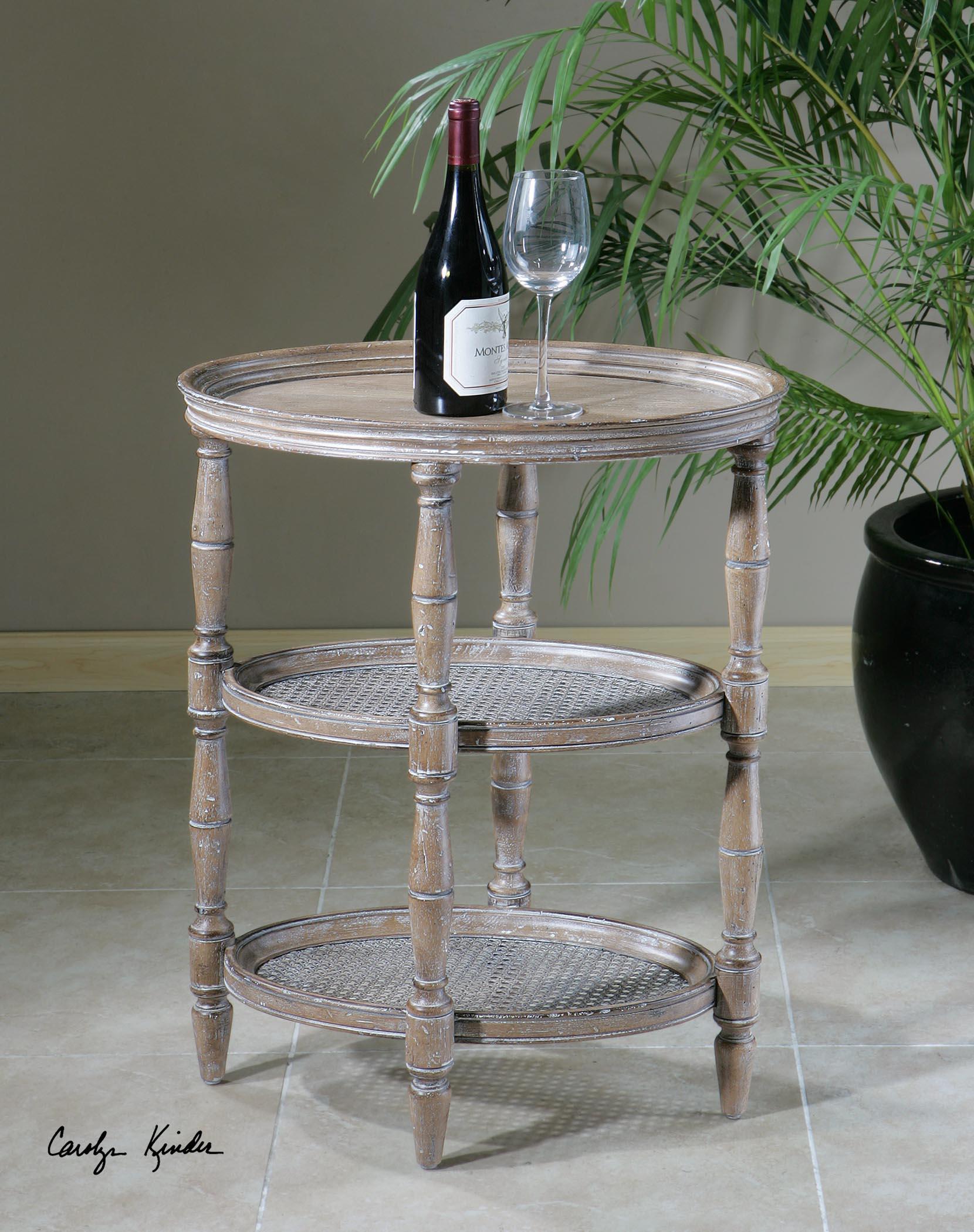 Uttermost Accent Furniture 24311 Kendellen Antique Accent